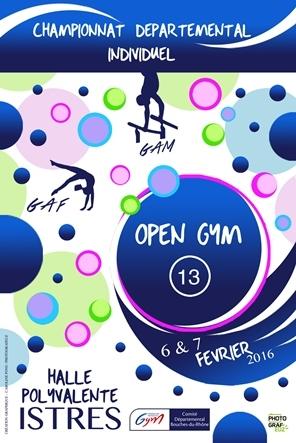 Résultat Open Gym 13 d'Istres 10-11/02/2018
