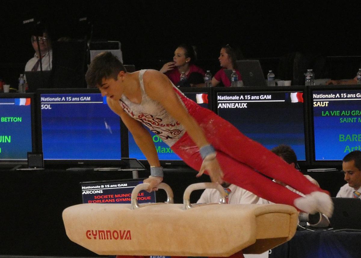 Maxime ORSONI – Vice champion de FRANCE 2018