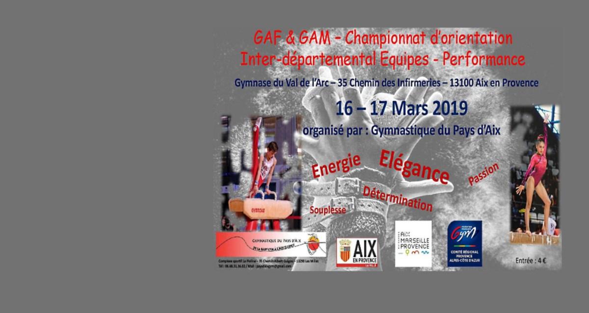 Championnat Interdépartemental Équipe d'Aix en Provence le 16-17 Mars 2019