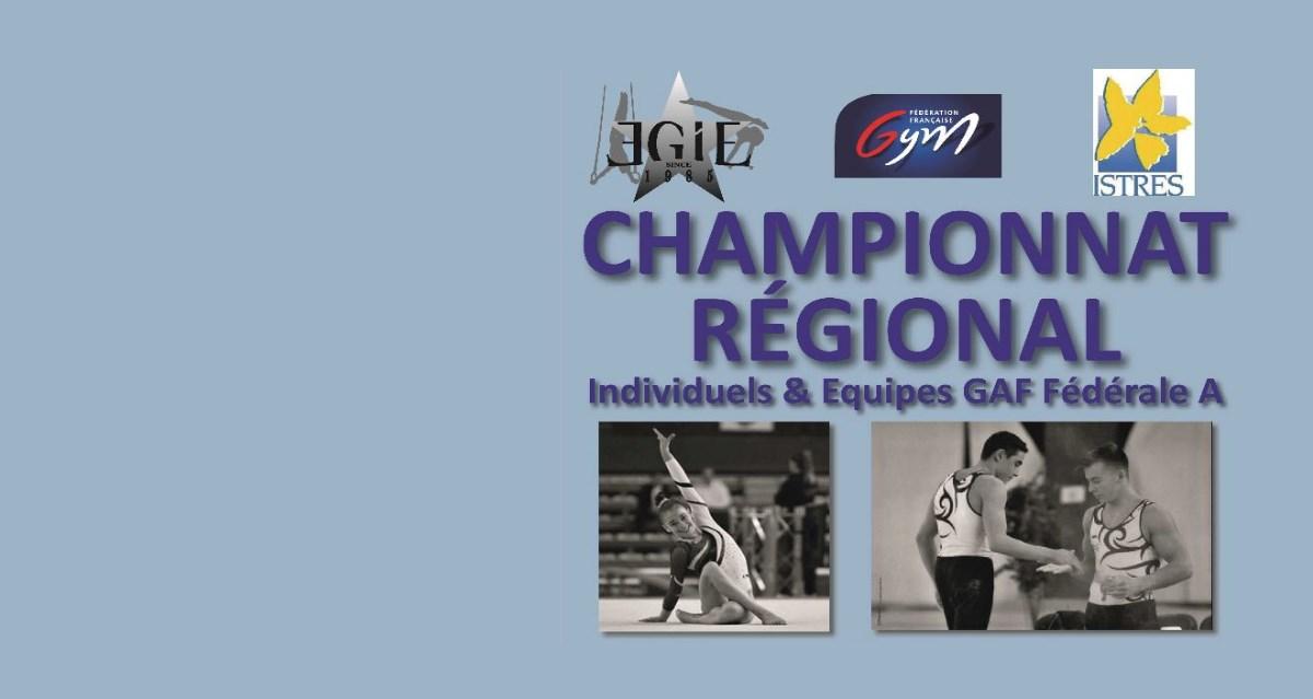 Championnat Régional Individuel à Istres le 23-24 Mars 2019