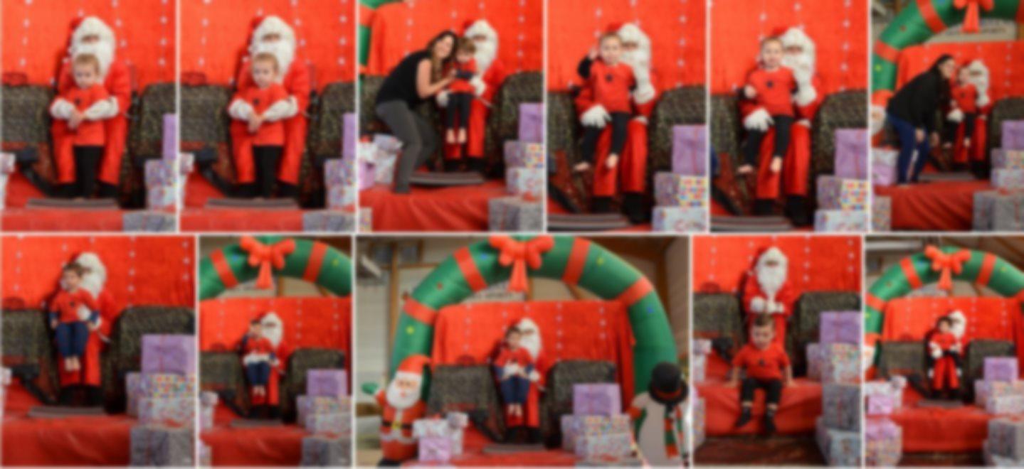 Commandez dès à présent les photos du Noël de la baby gym