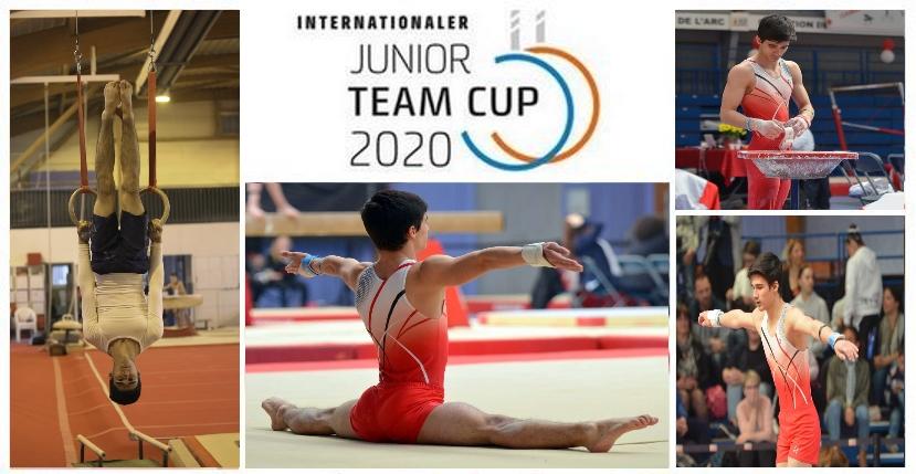 Killian LODENOT sélectionné pour la Berlin CUP 2020